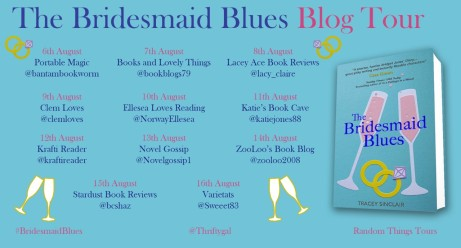 Bridesmaid Blues Blog Tour Poster